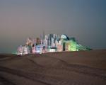 Bawadi, Dubai, 2006. Projekt einer Schlafstadt für ein Vergnügungsviertel. © Florian Joye
