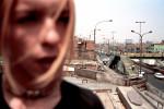 Alanis bei ihrem Haus, Lima (2002)  © Andreas Schwaiger