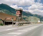 Rothis Western City. Gampel Bahnhof. 2005  © Yann Gross