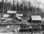 Around 1880 Rudolf Anliker and his wife emigrated from Huttwil (Canton Bern) to Goble, Oregon, where they cleared forest and established a farm. (E. Signer-Anliker private archive, Bassersdorf)