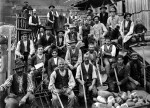 Construction workers, around 1912 (Malters, Canton Lucerne) © Josef Burri